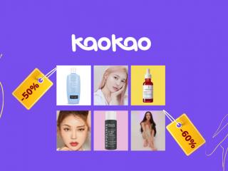 Top brand mỹ phẩm chính hãng có deal tốt trên KaoKao