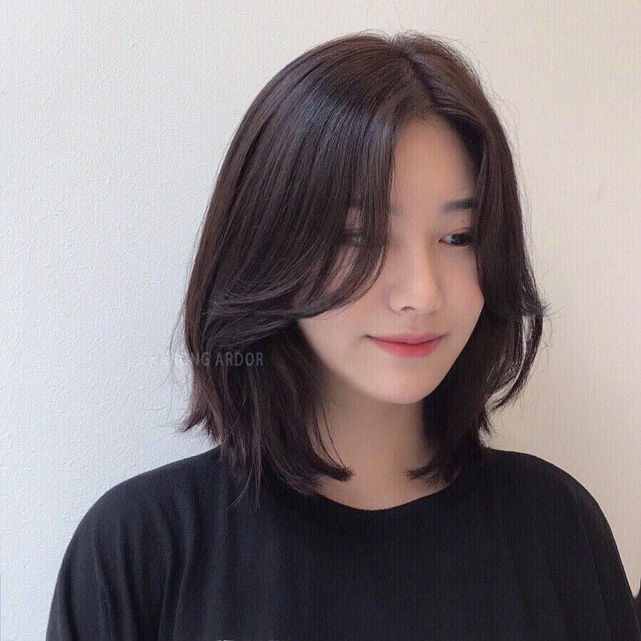 tóc uốn cúp đuôi ngắn